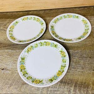 3 small saucer size Noritake Springfield plates